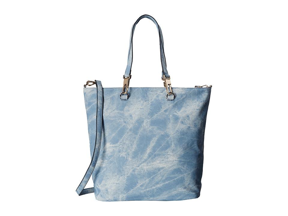 Gabriella Rocha - Cara Washed Tote (Blue) Tote Handbags