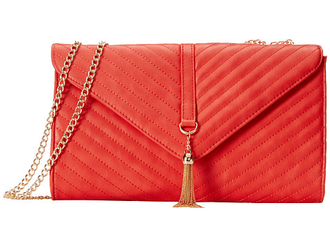 Gabriella Rocha - Alena Evening Purse with Tassel (Red) Satchel Handbags
