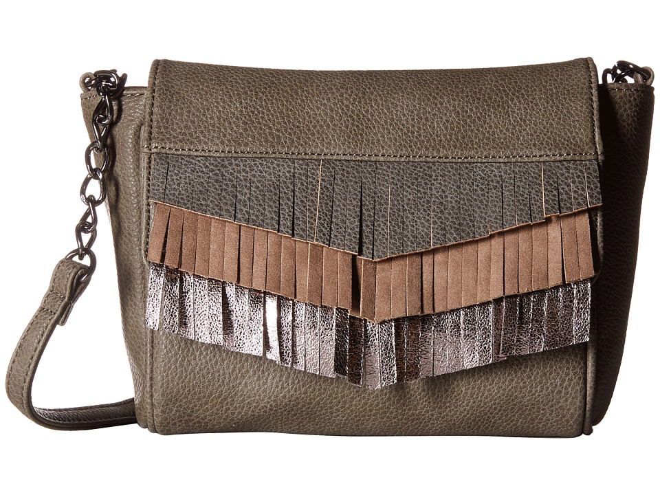 Deux Lux - Monterey Messenger (Grey) Messenger Bags