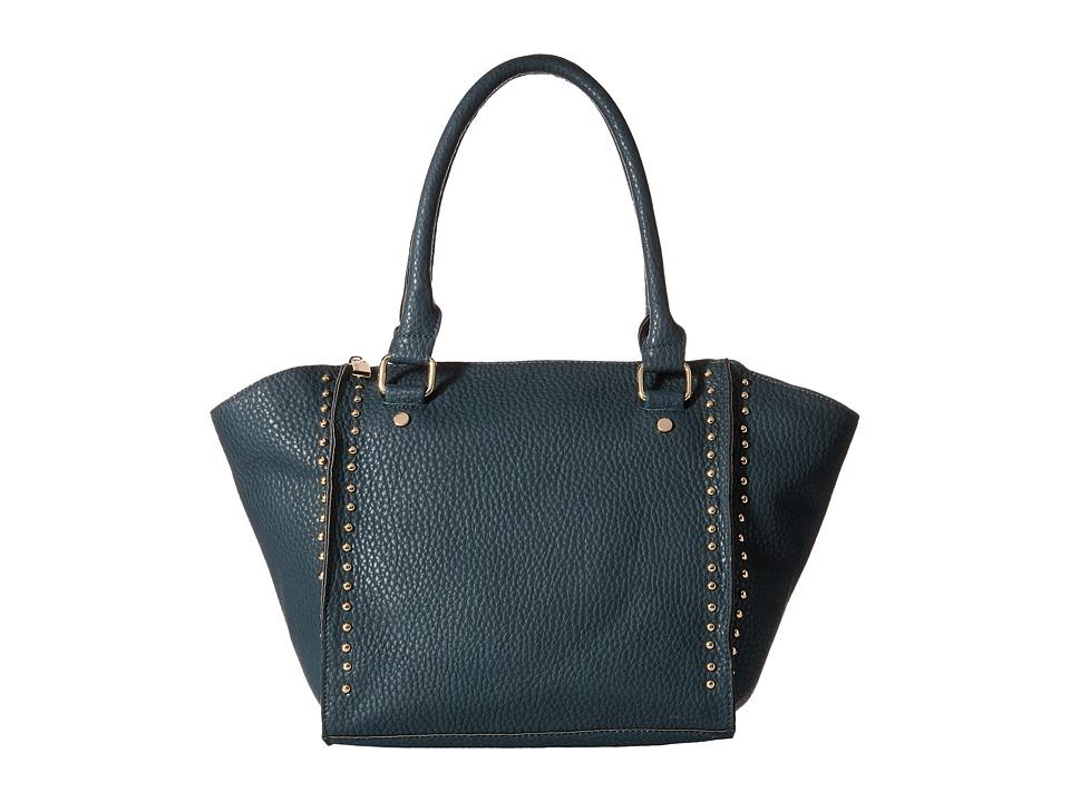 Deux Lux - Flatiron Satchel (Teal) Satchel Handbags