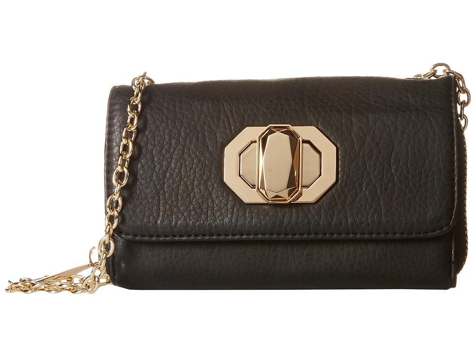 Deux Lux - Skip PDA Wallet (Black) Wallet Handbags