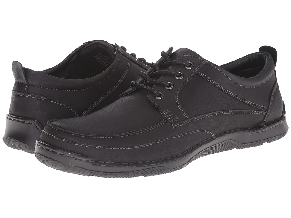 Image of Antonio Zengara - Belville (Black) Men's Lace up casual Shoes