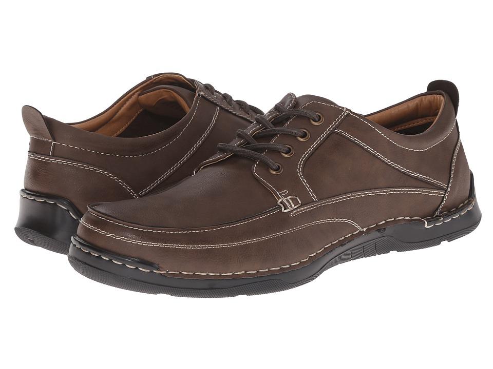 Image of Antonio Zengara - Belville (Brown) Men's Lace up casual Shoes