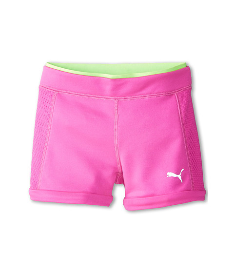 Puma Kids - Active Boyshorts (Little Kids) (Pink Glo) Girl's Shorts