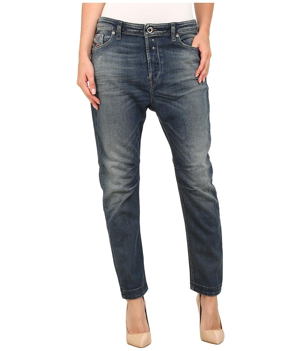 Diesel - Eazee Boyfriend 666P (Denim) Women's Casual Pants