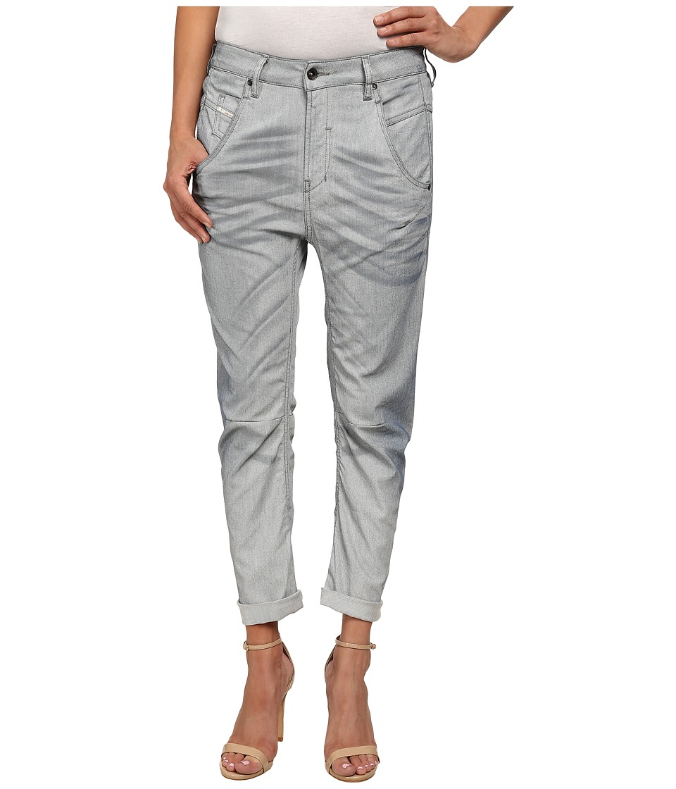 Diesel - Fayza L.32 Trousers (White) Women's Casual Pants