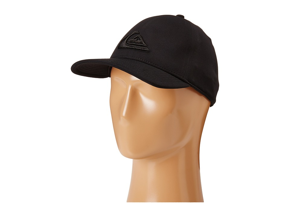 Quiksilver - Mountain Wave Black Hat (Black) Caps
