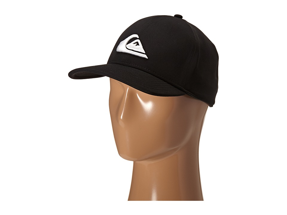 Quiksilver - Mountain Wave Black Hat (White) Caps