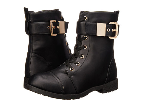 Charles Albert - Millie-Buckle (Black) Women's Boots