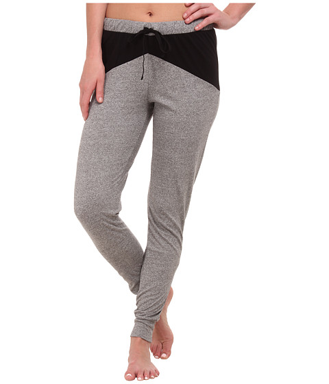 Cosabella - Pyramide Jogger Pants (Heather Gray/Black) Women's Pajama