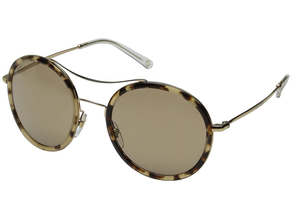 Gucci - GG 4252/N/S (Havana Honey Gold/Brown Mirror) Fashion Sunglasses