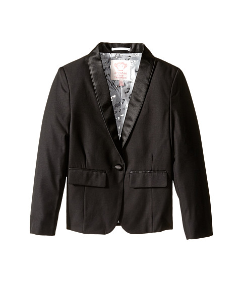 Appaman Kids - Tuxedo Blazer (Toddler/Little Kids/Big Kids) (Black) Girl's Jacket