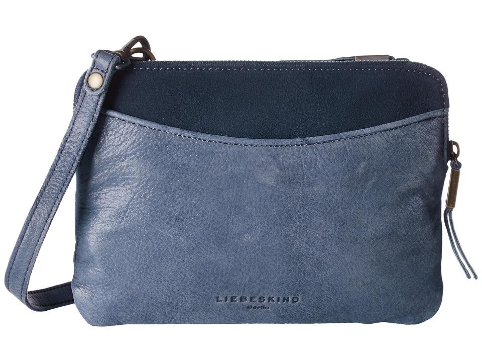 Liebeskind - Karen (Dark Blue) Cross Body Handbags