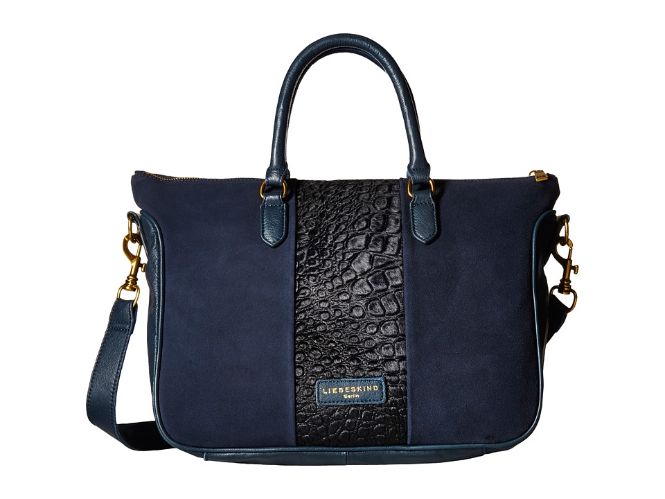 Liebeskind - Esther (Dark Blue 1) Satchel Handbags