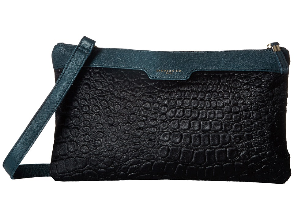 Liebeskind - Carol (Dark Blue) Clutch Handbags