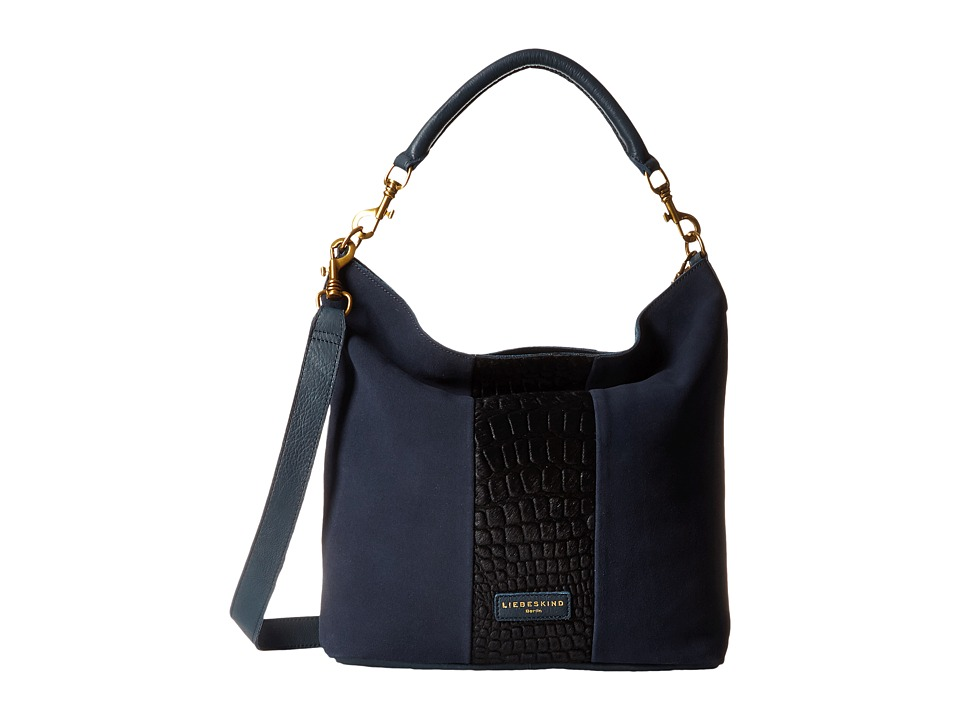 Liebeskind - Fenja (Dark Blue) Cross Body Handbags
