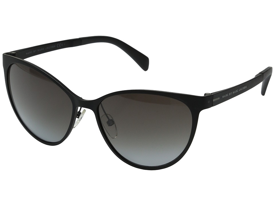 Marc by Marc Jacobs - MMJ 451/S (Crystal Black/Gray Gradient) Fashion Sunglasses