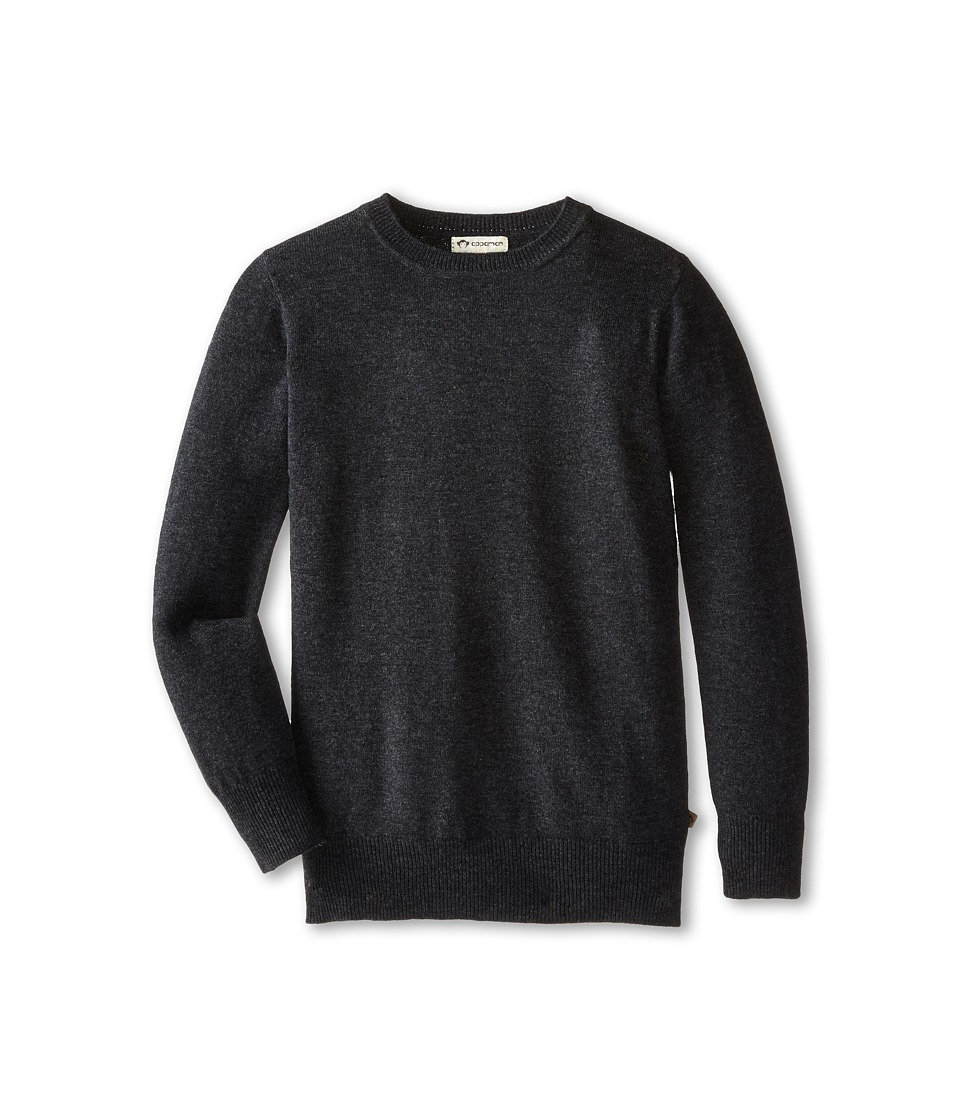 Appaman Kids - Cashmere Sweater (Toddler/Little Kids/Big Kids) (Charcoal Heather) Boy's Sweater
