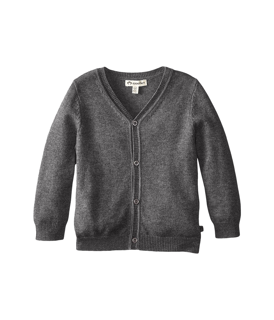 Appaman Kids - Cashmere Cardigan (Toddler/Little Kids/Big Kids) (Vintage Black) Boy's Sweater