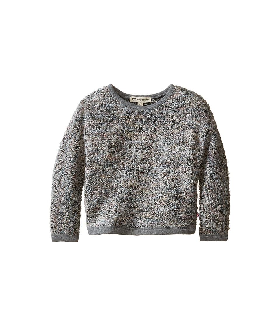 Appaman Kids - Dolman Sweater - Popcorn (Toddler/Little Kids/Big Kids) (Grey Melange) Girl