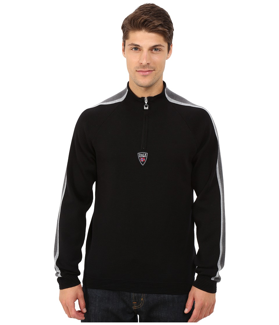 Dale of Norway - Besseggen Masculine (Black/Metal/Schiefer) Men's Sweater