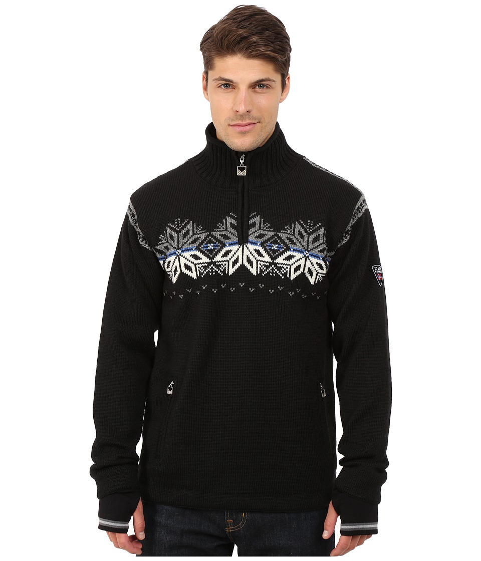 Dale of Norway - Snetind Masculine (Black/Off White/Cobalt/Smoke) Men's Sweater