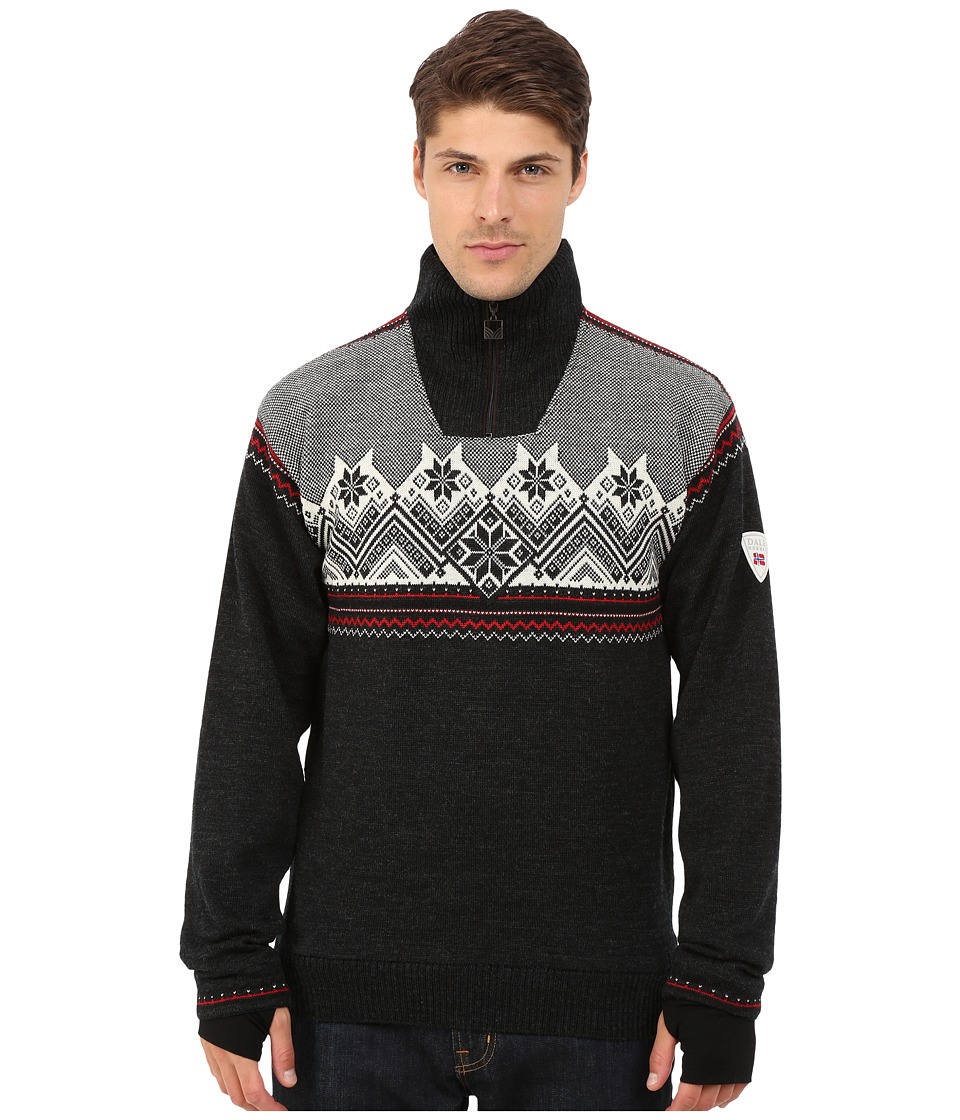 Dale of Norway - Glittertind Masculine (Dark Charcoal/Raspberry/Black/Off White) Men's Sweater