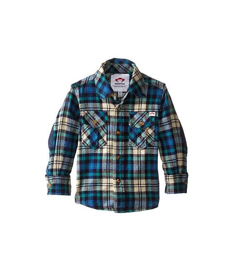 Appaman Kids - Flannel Shirt (Toddler/Little Kids/Big Kids) (Green Plaid) Boy