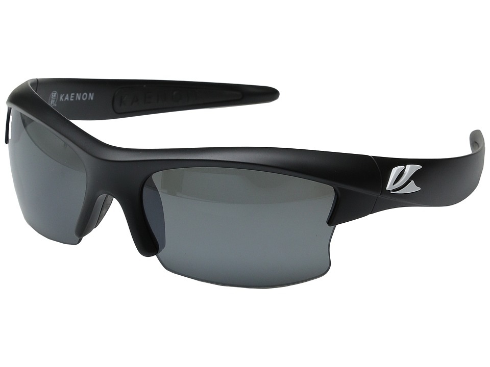 Kaenon - S-Kore (Matte Black/White Logo) Fashion Sunglasses