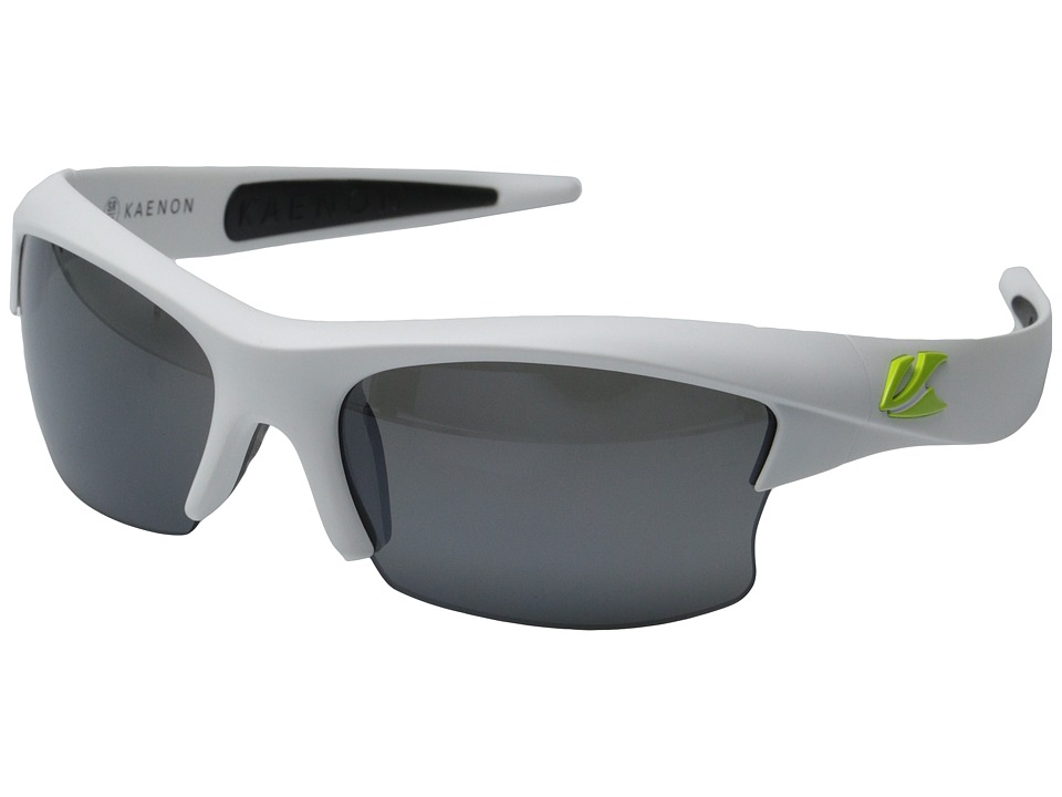 Kaenon - S-Kore (Matte White/Green Logo) Fashion Sunglasses