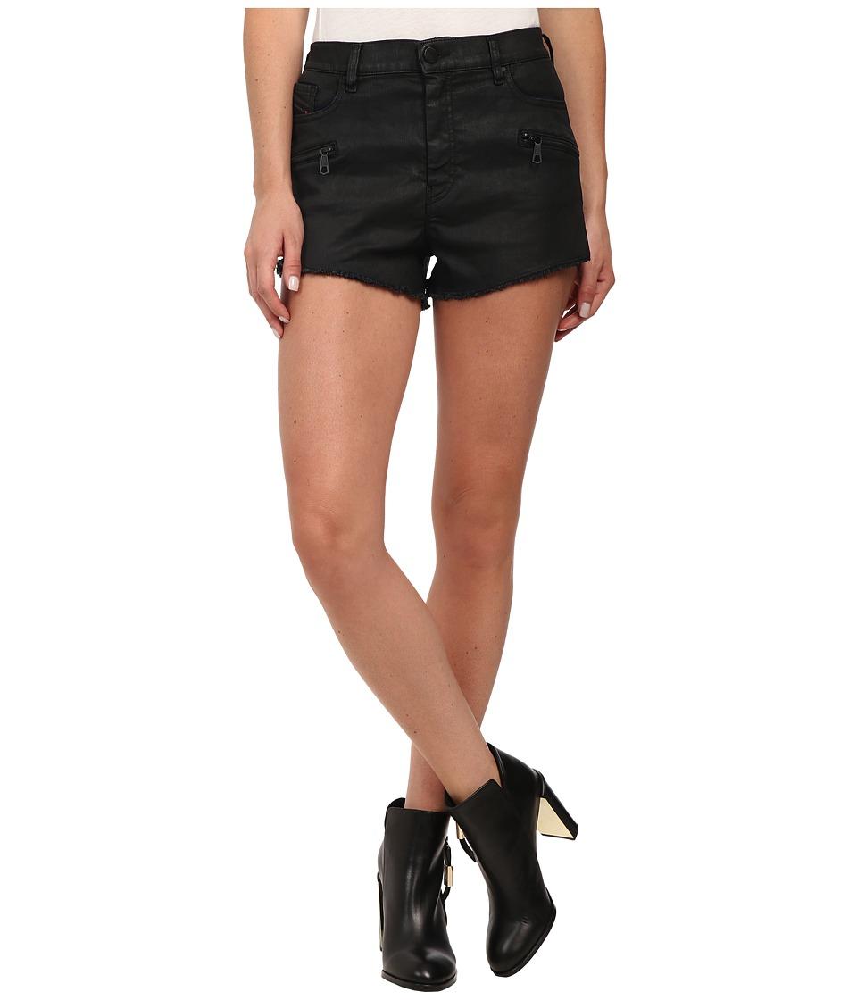 Diesel - De-Shozip Shorts in Denim (Denim) Women's Shorts