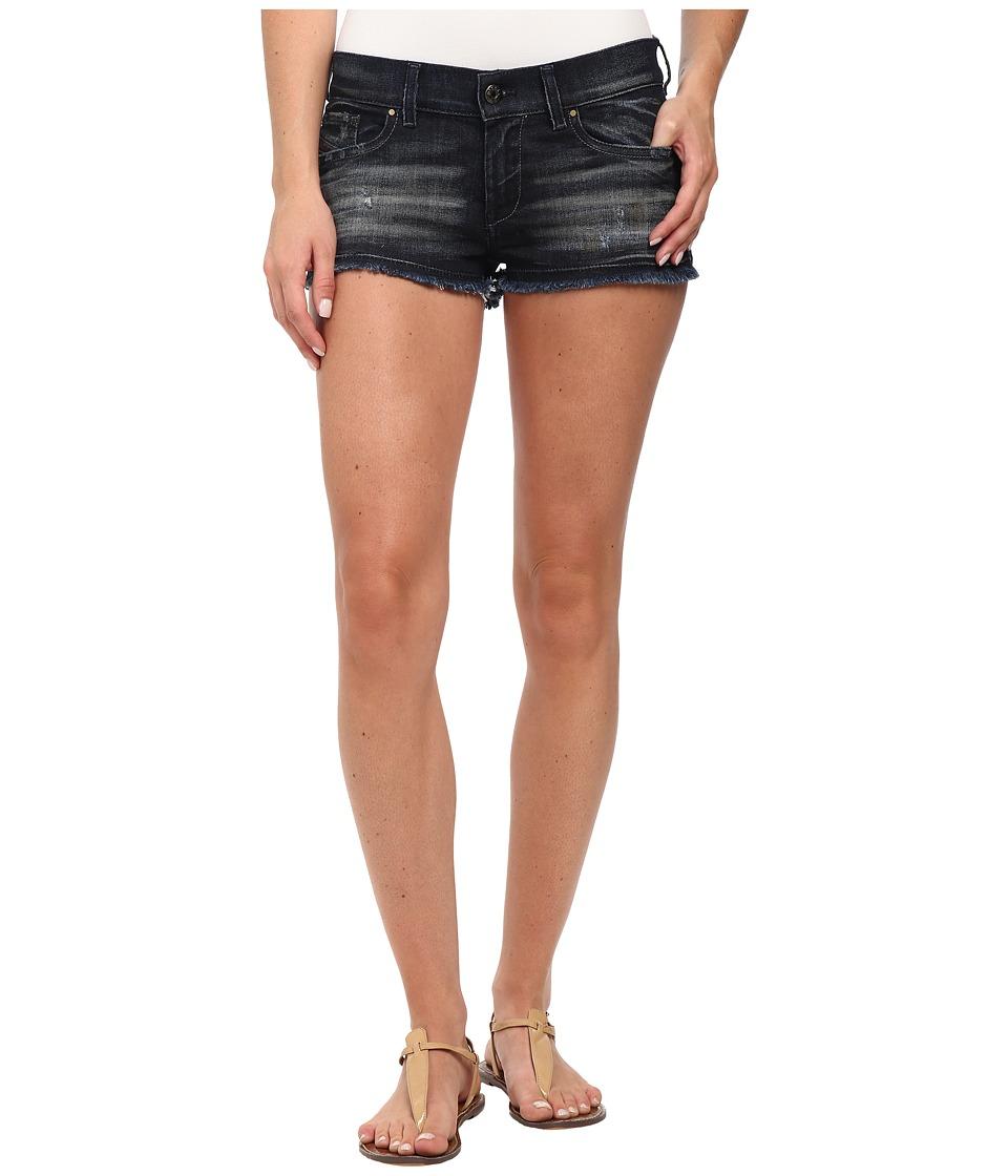 Diesel - De-Scoss Shorts in Denim (Denim) Women's Shorts