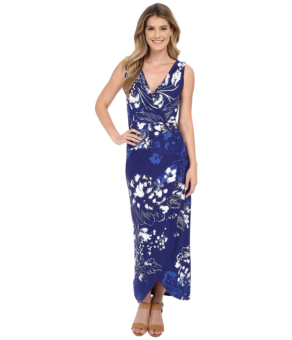Tommy Bahama - Freshwater Flowers Long Dress (Deep Space) Women's Dress