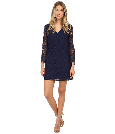 Lilly Pulitzer - Felicity Dress (True Navy Sunburst Lace) Women's Dress