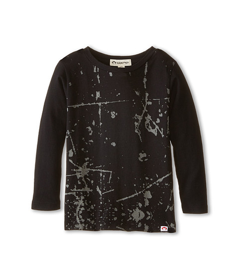 Appaman Kids - Fine Line Long Sleeve Graphic Tee - Grounded (Toddler/Little Kids/Big Kids) (Black) Boy