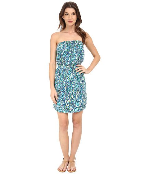 Lilly Pulitzer - Windsor Dress (Sea Blue Its A Stretch) Women's Dress