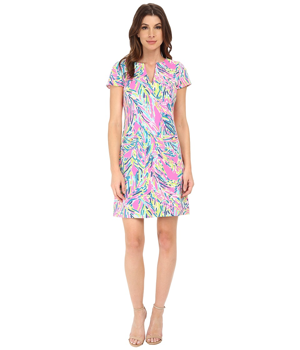 Lilly Pulitzer - Layton Shift (Multi Palm Reader) Women's Dress