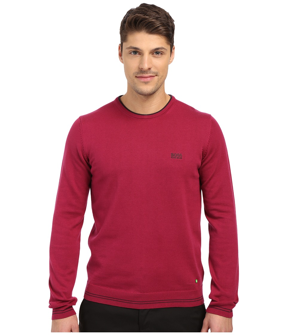 BOSS Green - Rime 10184864 01 (Red) Men's Sweater