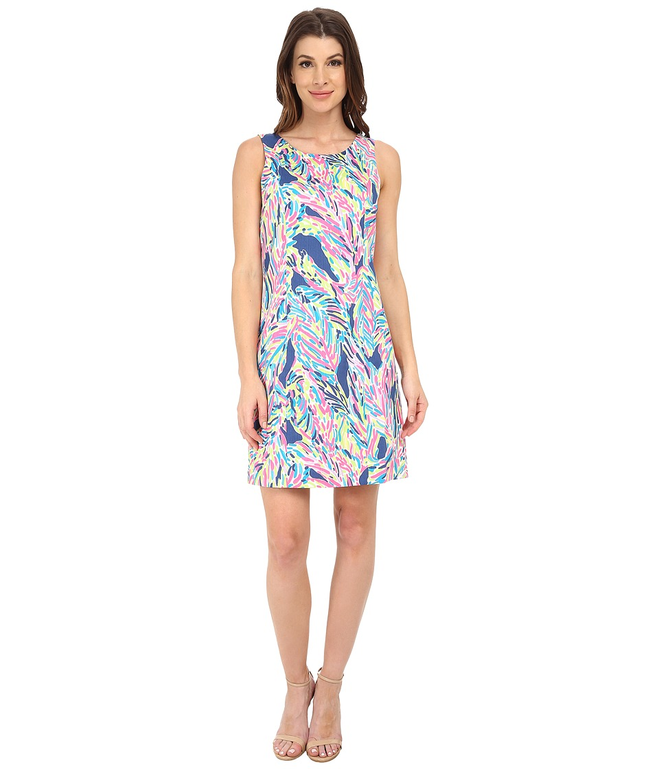 Lilly Pulitzer - Cathy Shift (Indigo Palm Reader) Women's Dress