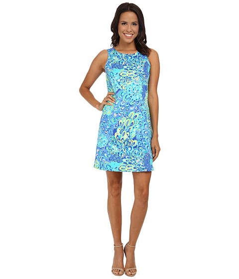 Lilly Pulitzer - Cathy Shift (Sea Blue Lillys Lagoon) Women