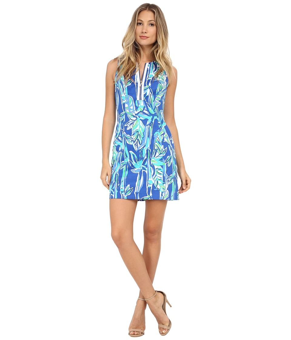 Lilly Pulitzer - Penelope Shift (Blue Crush Bamboom) Women's Dress