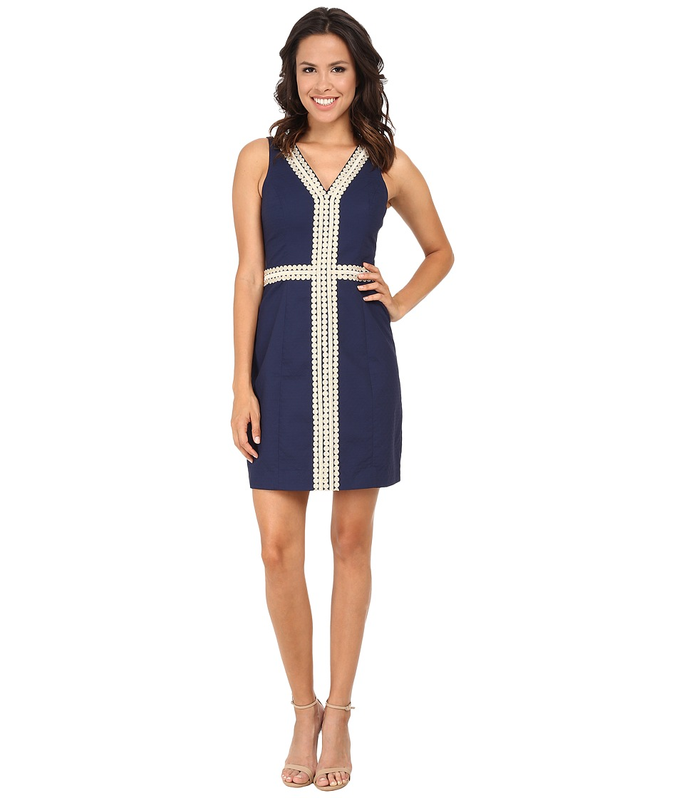 Lilly Pulitzer - Bentley Shift (True Navy) Women's Dress