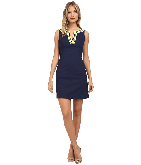 Lilly Pulitzer - Blaire Shift (True Navy) Women's Dress
