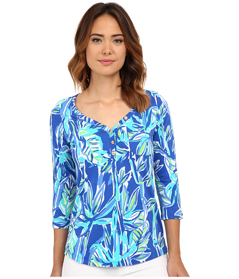 Lilly Pulitzer - Palmetto Top (Blue Crush Bamboom) Women