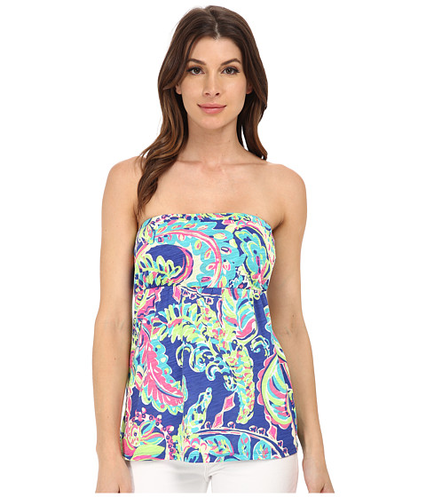 Lilly Pulitzer - Val Tube Top (Multi Toucan Play) Women