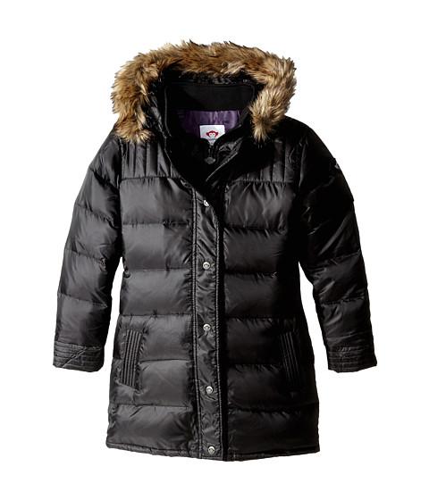 Appaman Kids - Long Down Coat (Toddler/Little Kids/Big Kids) (Black) Girl's Coat