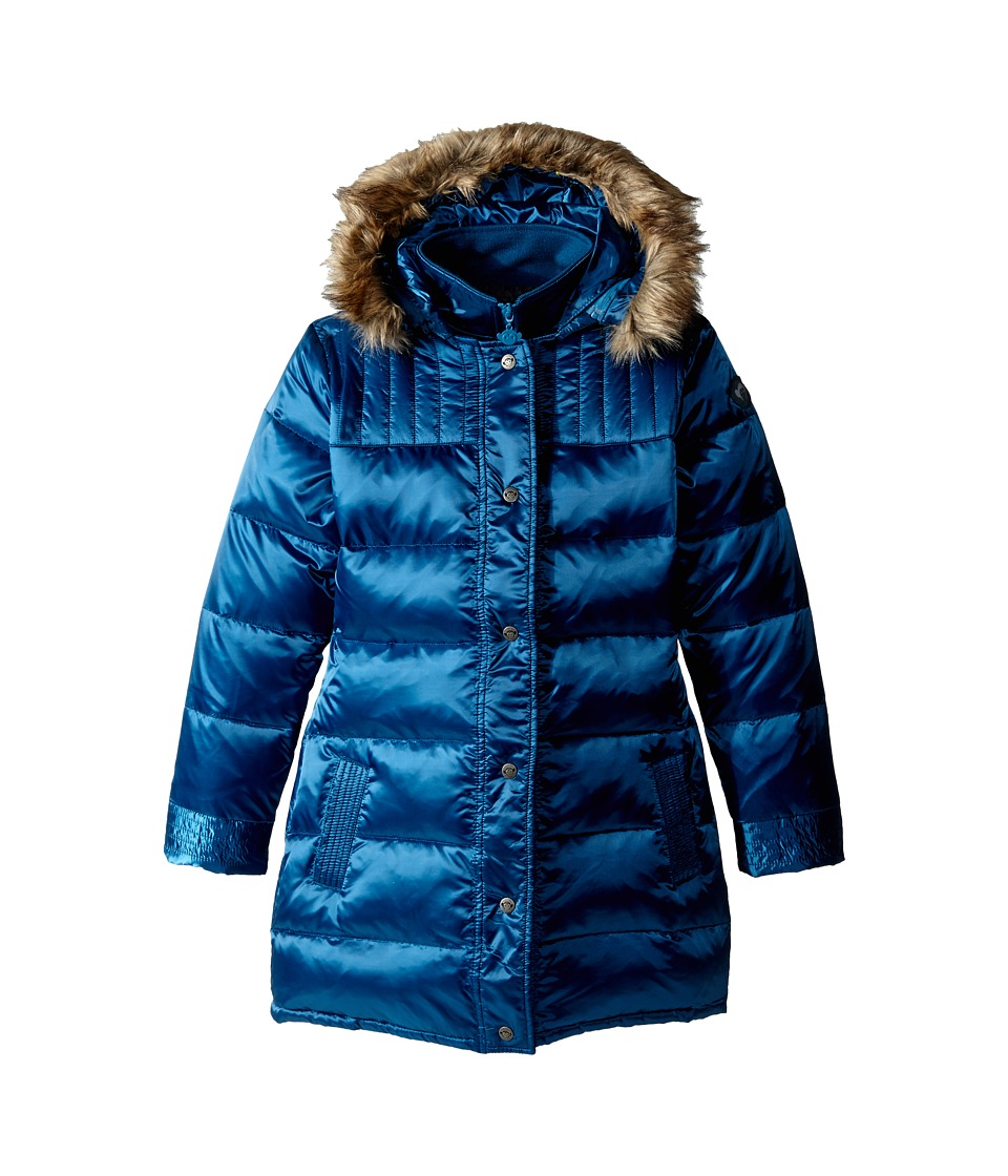 Appaman Kids - Long Down Coat (Toddler/Little Kids/Big Kids) (Ink Blue) Girl's Coat