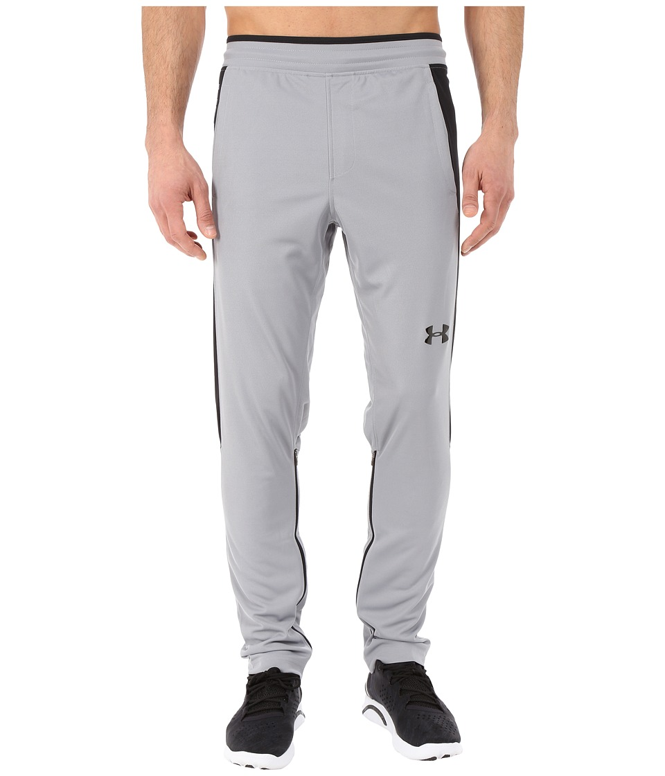 Under Armour - UA Select Warm-Up Pants (Steel/Black/Black) Men's Workout