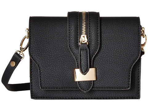 Gabriella Rocha - Polly Crossbody Saddle Bag (Black) Handbags