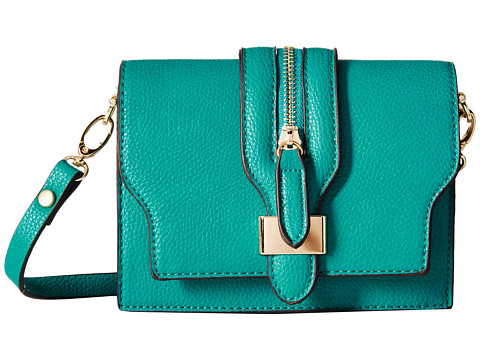 Gabriella Rocha - Polly Crossbody Saddle Bag (Teal) Handbags